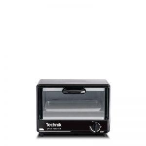 Technik 6 Liter Capacity Oven Toaster, 15 Minute Timer, Black